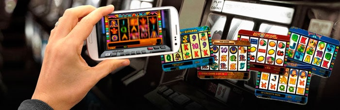 Slot machines on the phone