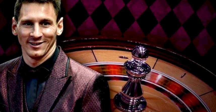Messi likes to gamble in casinos